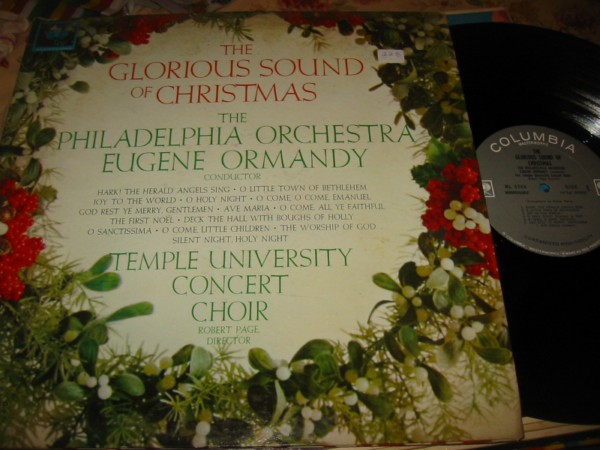 EUGENE ORMANDY - GLORIOUS SOUND CHRISTMAS - COLUMBIA