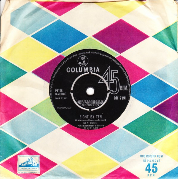 Ken Dodd - Eight by Ten - Columbia UK 4363