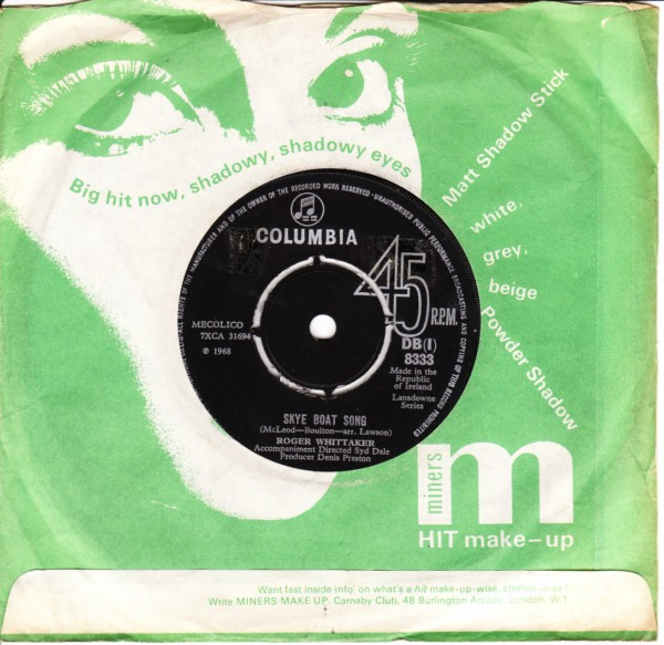 Roger Whittaker - Early one Morning - Columbia Irish 4360