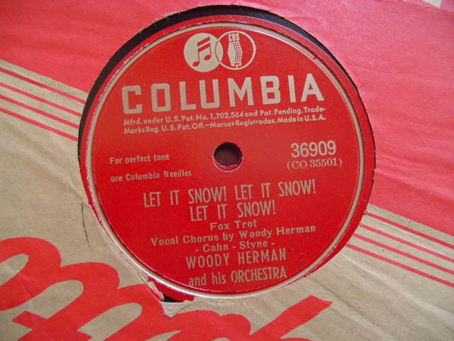WOODY HERMAN - LET IT SNOW - COLUMBIA 36090