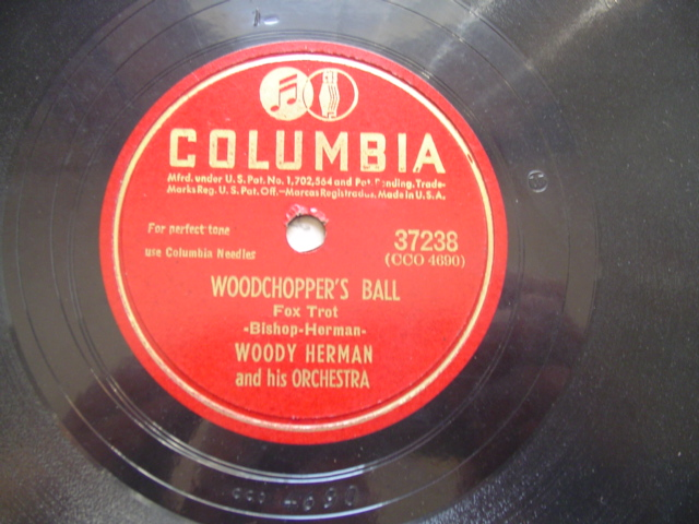 WOODY HERMAN - WOODCHOPPERS BALL - COLUMBIA 37238