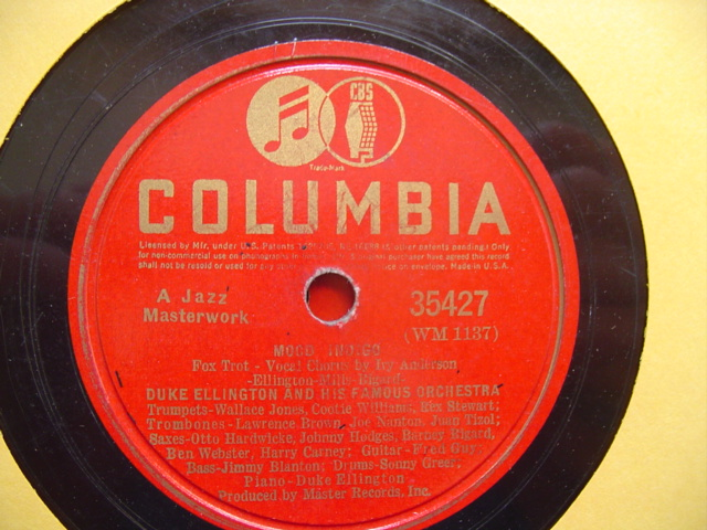 DUKE ELLINGTON - SOLITUDE - COLUMBIA 35427