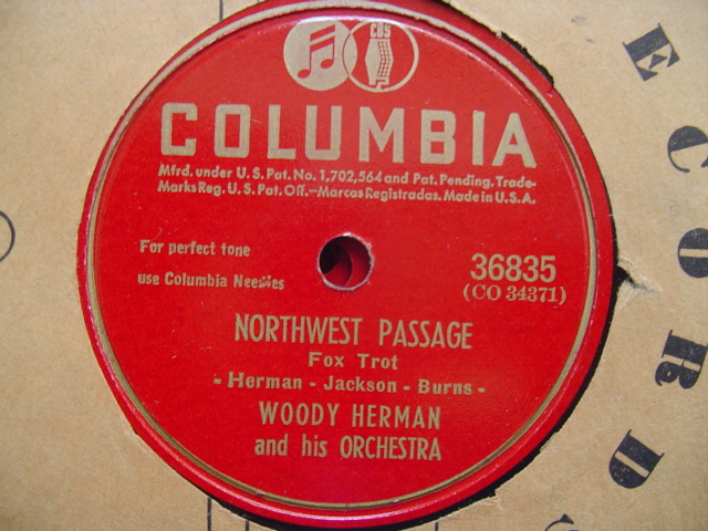 WOODY HERMAN - NORTHWEST PASSAGE - COLUMBIA 36835