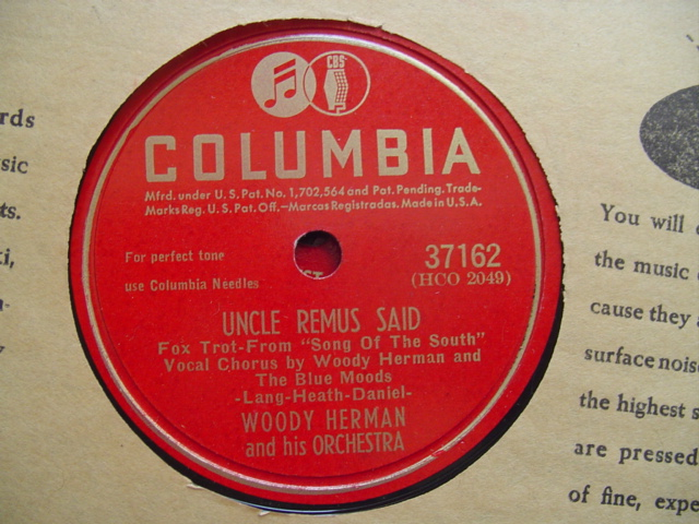 WOODY HERMAN - ROMANCE IN DARK - COLUMBIA 37162