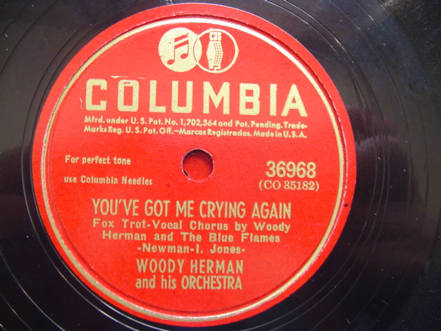 WOODY HERMAN - PANACEA - COLUMBIA 36968