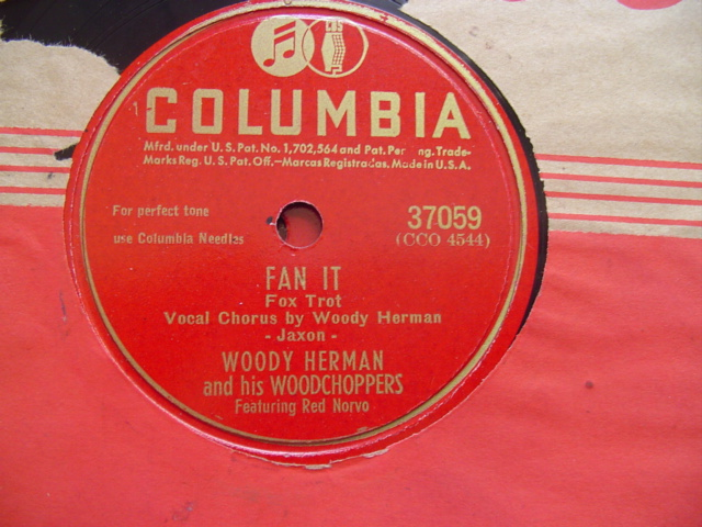 WOODY HERMAN - BLOWIN UP A STORM - COLUMBIA 37059