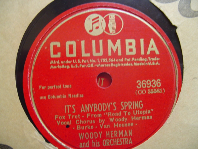 WOODY HERMAN - WELCOME TO MY DREAM - COLUMBIA 36936
