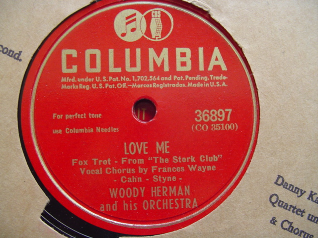 WOODY HERMAN - LOVE ME - COLUMBIA 36897