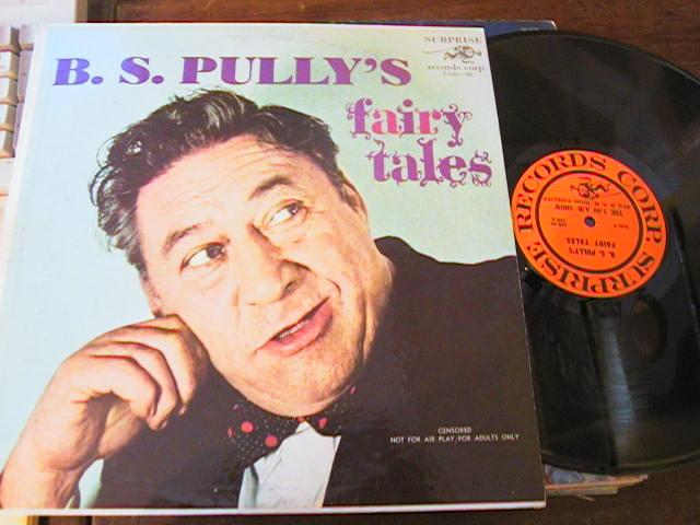 B.S. PULLY - FAIRY TALES - SUPRISE RECORDS