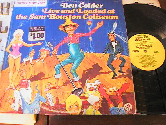 BEN COLDER - LIVE SAM HOUSTON - MGM PROMO