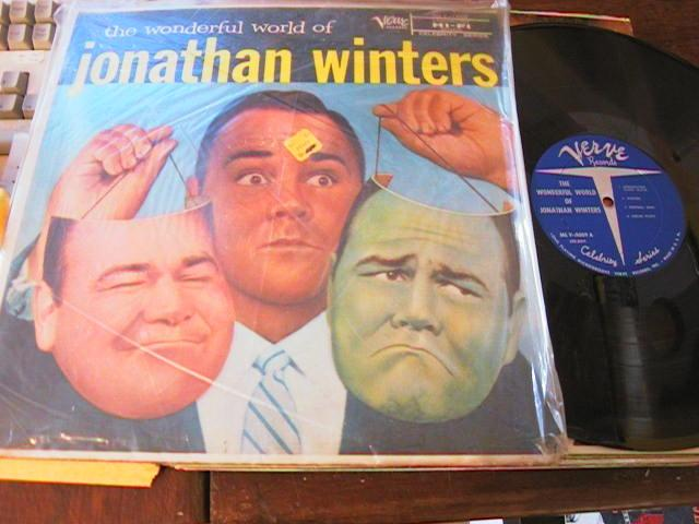 JONATHAN WINTERS - WONDERFUL WORLD OF - VERVE