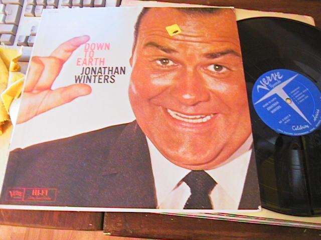 JONATHAN WINTERS - DOWN TO EARTH - VERVE