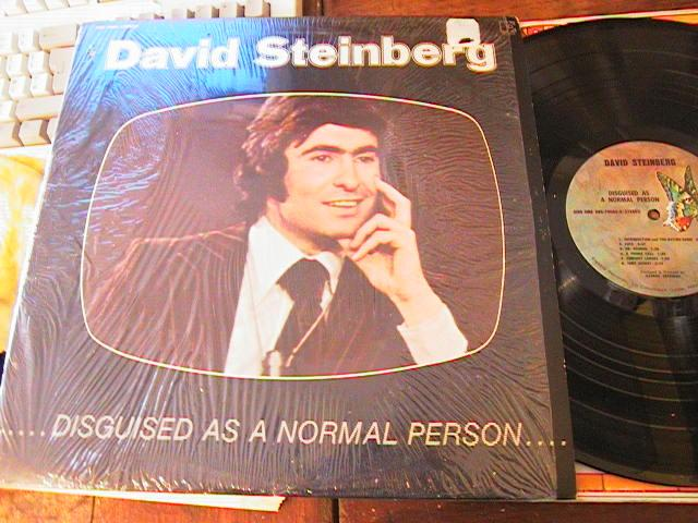 DAVID STEINBERG - DISCGUISED NORMAL PERSON - ELEKTRA