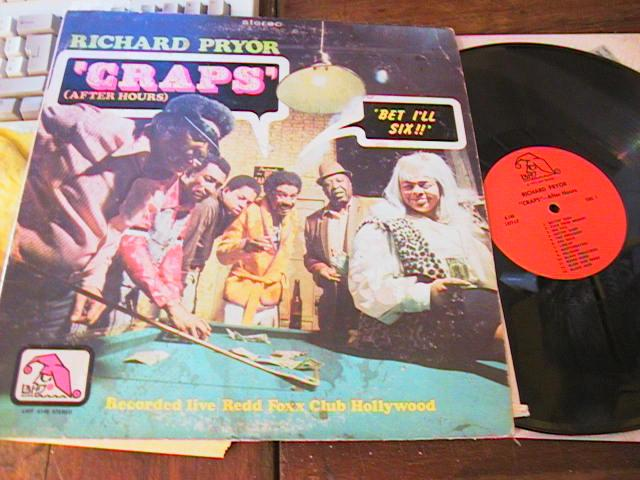 RICHARD PRIOR - CRAPS - LAFF RECORDS