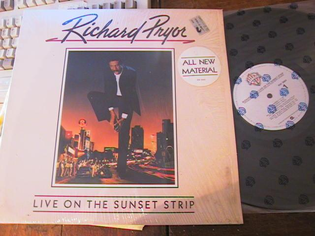 RICHARD PRIOR - SUNSET STRIP - WARNER RECORDS