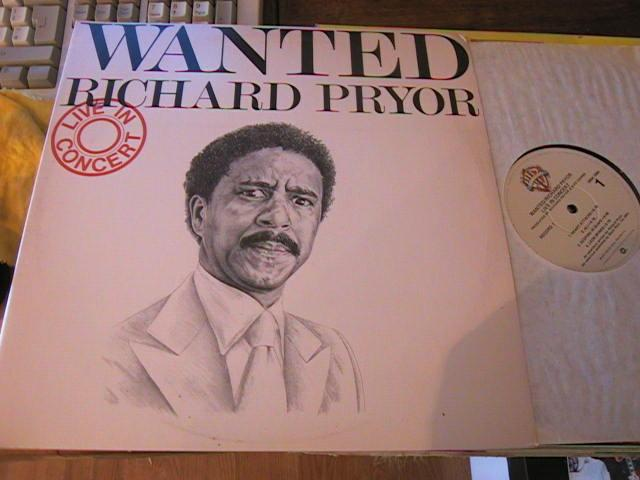 RICHARD PRIOR - WANTED - 2LP - WARNER RECORDS