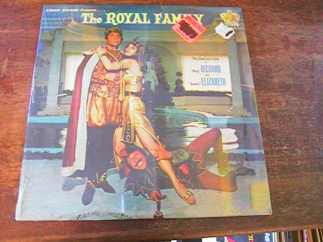 KERMIT SCHAFER - ROYAL FAMILY - KING RECORDS - SEALED