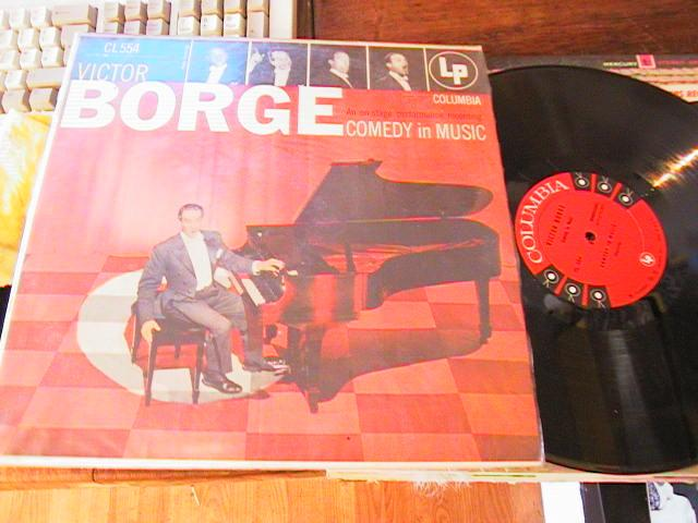 VICTOR BORGE - COMEDY IN MUSIC - COLUMBIA 6 EYE