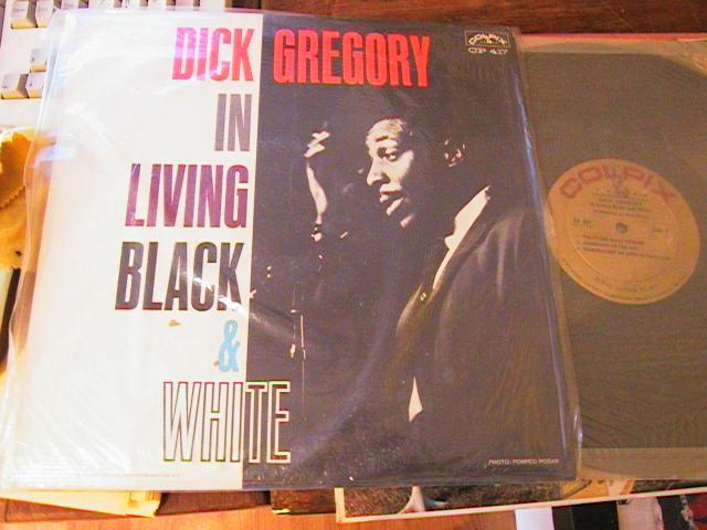 DICK GREGORY - IN LIVING BLACK & WHITE - COLPIX