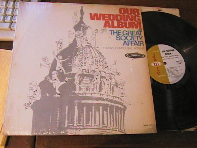 KENNY SOLMS & GAIL PARENT - WEDDING ALBUM - JUBILEE RECORDS