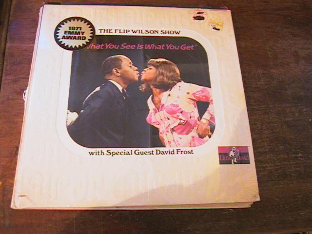 FLIP WILSON - WHAT YOU SEE - LITTLE DAVID RECORDS SEALED