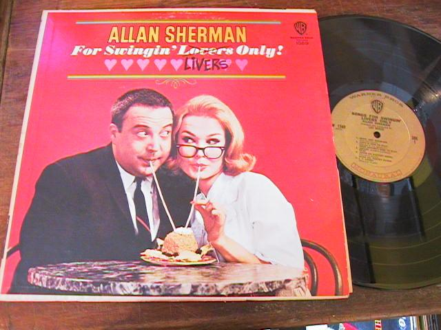 ALLAN SHERMAN - FOR SWINGIN LIVERS - WARNER