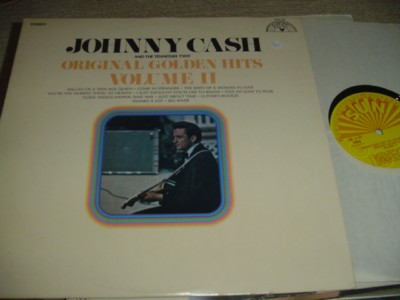 JOHNNY CASH - GOLDEN HITS VOL 2 - SUN RECORDS { C 92