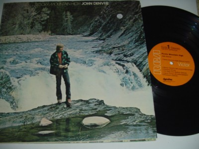 JOHN DENVER - ROCKY MOUNTAIN HIGH - RCA { 65