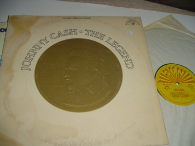 JOHNNY CASH - THE LEGEND - SUN RECORDS 2LP { C 71