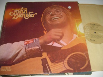 JOHN DENVER - AN EVENING WITH - RCA 2LP { C 74