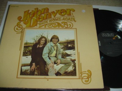 JOHN DENVER - BACK HOME AGAIN - RCA { C 77