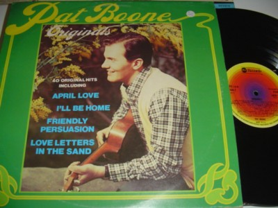 PAT BOONE - 40 ORIGINAL HITS - ABC UK { C 105