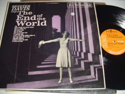 SKEETER DAVIS - END OF THE WORLD - RCA UK { C 97
