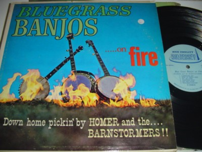 HOMER & BRAINSTORMERS 0 BLUEGRASS BANJOS { C 101