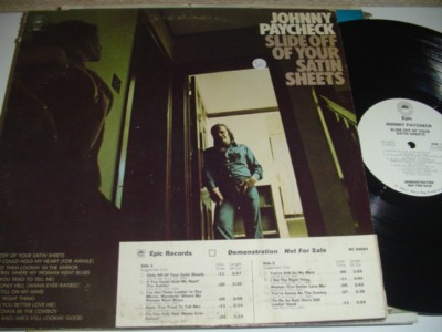 JOHNNY PAYCHECK - SLIDE SATIN SHEETS - EPIC PROMO { C 102