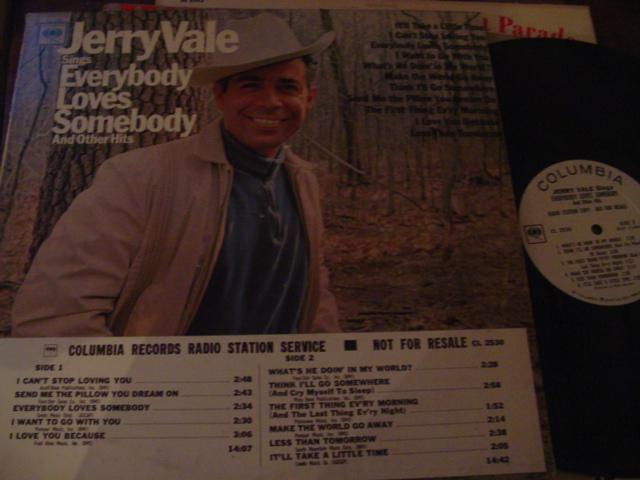 JERRY VALE - EVERYBODY LOVES SOMEBODY - COLUMBIA { AF 26