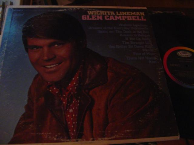 GLEN CAMPBELL - WICHITA LINEMAN - CAPITOL { C 8