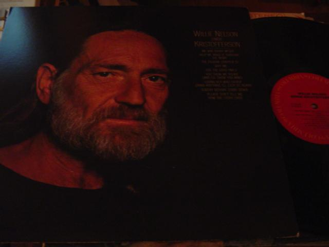 WILLIE NELSON - SINGS KRISTOFFERSON - COLUMBIA { C5