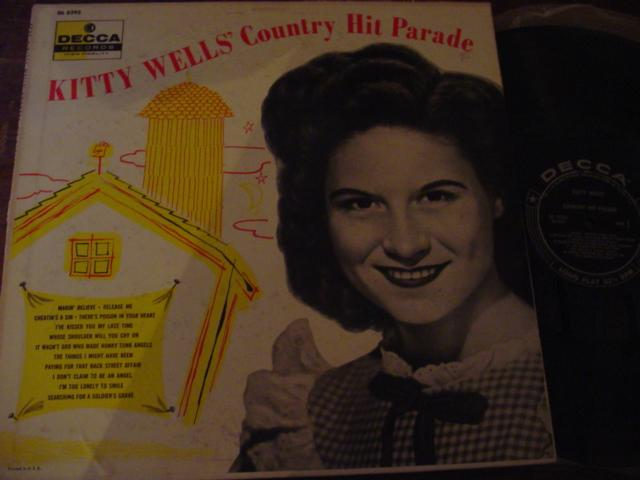 KITTY WELLS - COUNTRY HIT PARADE - DECCA { C 27