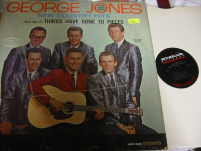 George Jones - New Country Hits - Musicor
