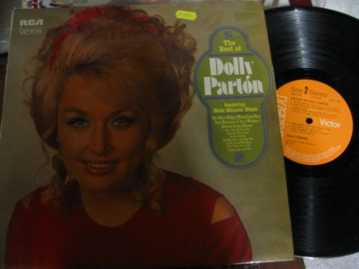 DOLLY PARTON - THE BEST OF - RCA VICTOR UK