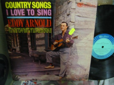 EDDY ARNOLD - COUNTRY SONGS I LOVE TO SING - CAMDEN