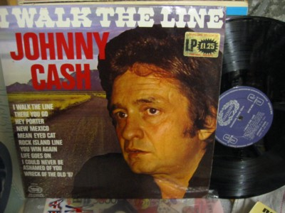 Johnny Cash - I walk the Line - Hallmark UK