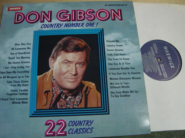 Don Gibson - Country Number One - Warwick WW5079