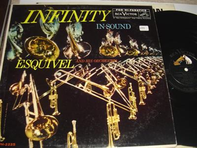 ESQUIVEL - INFINITY IN SOUND - RCA { PM 239
