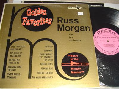 RUSS MORGAN - GOLDEN FAVOURITES - DECCA { PM 240