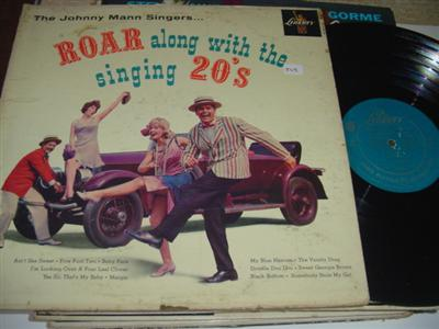JOHNNY MANN SINGERS - ROARING 20s - LIBERTY { PM 245