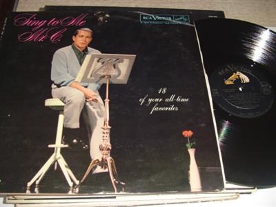 PERRY COMO - SING TO ME Mr C - RCA { PM 257
