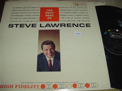 STEVE LAWRENCE - VERY BEST OF - UA { PM 255
