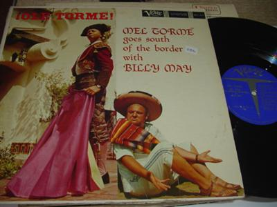 MEL TORME BILLY MAY - OLE TORME VEREV { PM 256